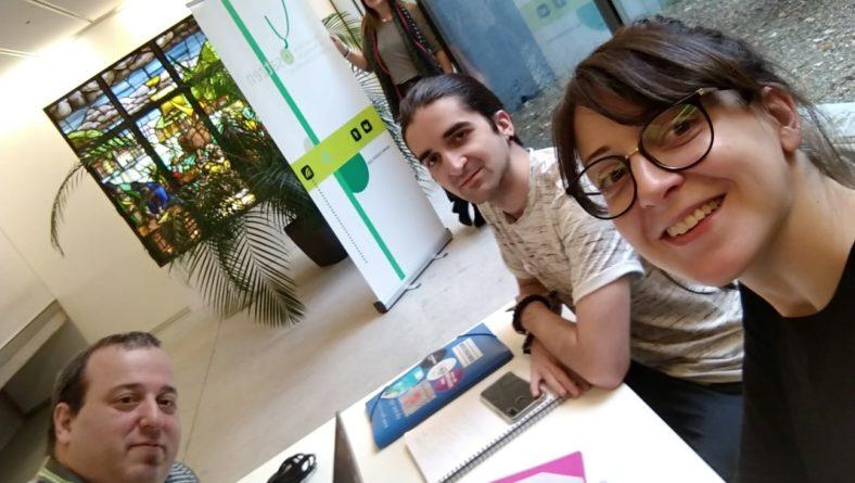 Harrobia  Osatzen  Elkartearen  kongresuan  parte  hartu  du  Donostian
