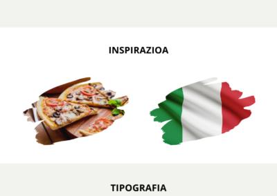 Pizza di Italia Brandboard