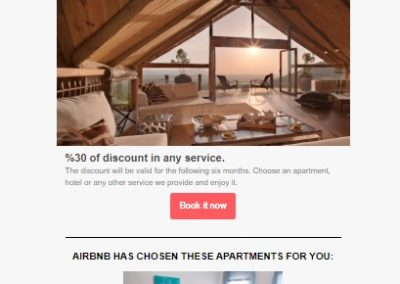 Campaña Emailing AirBnb